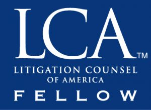 Litigation Counsel of America Fellow Icon