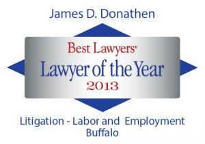 Best Lawyers - Lawyer of the Year - 2013 - Donathen