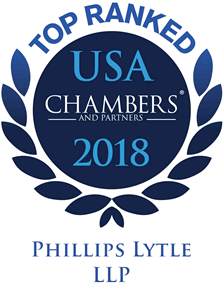 Chambers USA Top Ranked