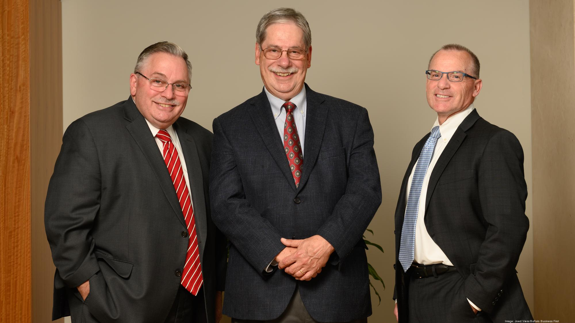 Phillips Lytle LLP attorneys Kenneth Manning, James Donathen and Kevin English.