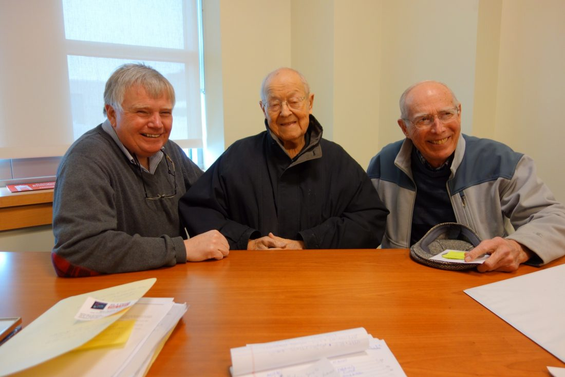 Greg Peterson, Dick Anson and Doug Manly